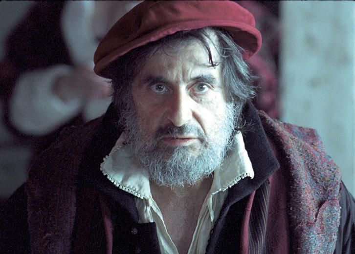 """베니스의 상인 (The Merchant of Venice, 2004), """"알 파치노의 광기 어린 샤일록"""""""