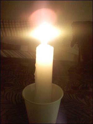 촛불을 들고 계신 그대에게 드리는 노래 …