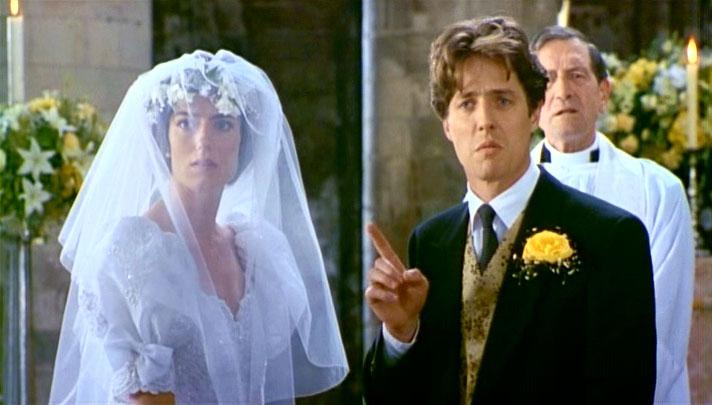 """""""네번의 결혼식과 한번의 장례식"""", 결혼은 무서운 일이다"""